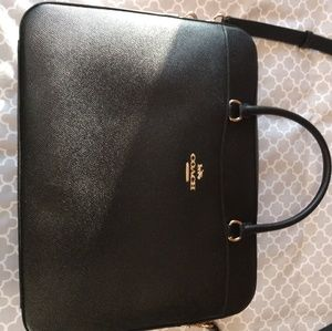 Coach Leather Computer Bag
